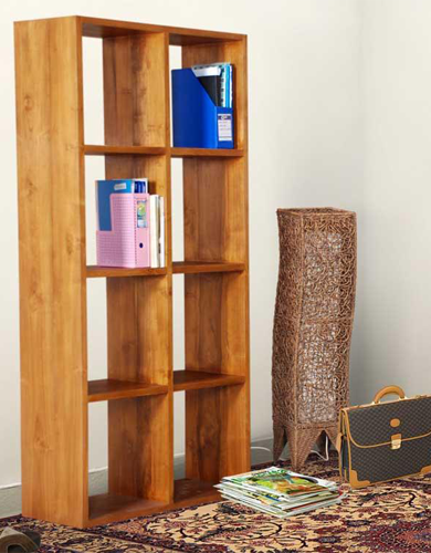 Rhodes Bookshelf- 8 Compartment 2