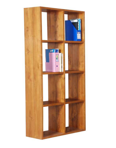 Rhodes Bookshelf- 8 Compartment